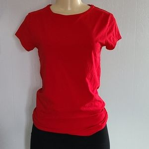 MNG by Mango Red Top